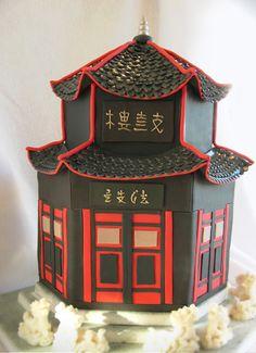 Pagoda Cake. Edible Art #coupon code nicesup123 gets 25% off at  leadingedgehealth.com