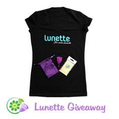 Lunette Purple Cynthia Menstrual Cup Giveaway