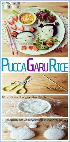 Masakan Unik - Pucca Garu Rice  Bahan : • Gunting • Tusuk Gigi • isi beras dan dibungkus dgn plastik • gunakan plastik pembungkus membentuk nasi  NB : website (http://ResepMasakanSederhana.net/) kami dalam proses pembuatan   #resep#masakan#sederhana#unik#unique#enak#recipes#food#nori#keju#pucca#garu#rice#nasi