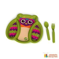 Kit Alimentação Coruja http://abaratadizqtem.com.br/primeira-infancia/kit-alimentacao-coruja