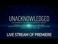 Unacknowledged Red Carpet Premiere - Livestream - YouTube