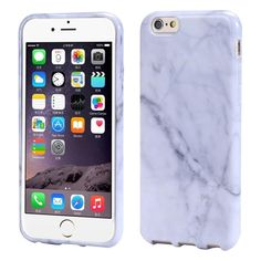 Sannysis Marble Texture Print Cover Case Skin For iPhone 6s Plus 5.5 (White ). Material: TPU. Compatible for iPhone 6s Plus 5.5. Unique design allows easy access to all buttons, controls and ports without having to remove the skin. Shock absorbent, shatterproof, and anti-scratch material. Delivers instant all around protection from scratches.