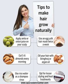 Help Hair Grow, How To Grow Your Hair Faster, How To Make Hair, Grow Hair Back, Natural Hair Growth Tips, Hair Growth Oil, Natural Hair Styles, Long Hair Styles, Healthy Scalp