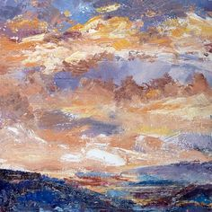 Fading glory   2012 Oil on canvas   300 x300 #RosKochArt