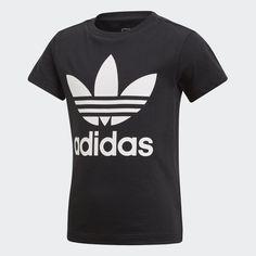 new styles aec06 3e919 Trefoil Tee Black CD8439 Träningsskor, Träning, T Shirts, Sneakers
