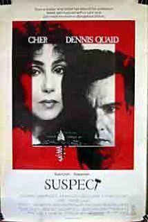 Suspect:  A judge commits suicide, and his secretary is found murdered. A homeless deaf-mute man, Carl Anderson is arrested for her murder. Public defender Kathleen is assigned by the court as his lawyer. She sets to find the real killer, and gets help from the congressional advisor, Eddie Sanger who is called to be on the jury panel.  (1987)