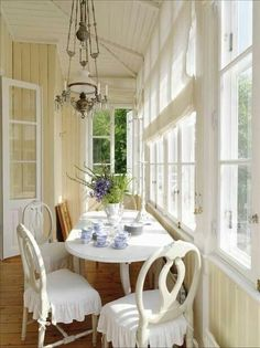 A long narrow table is perfect for this spot