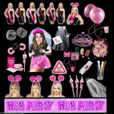 Hen Night Party Accessories Novelties Games Bride To Be Gifts Fancy Dress