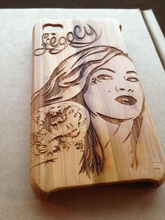 JackBacks' Wooden Case with custom engraving