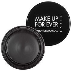 MAKE UP FOR EVER Aqua Black Waterproof Cream Eye Shadow: Eyeshadow   Sephora