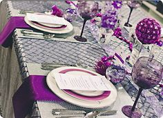 Purple and Silver...stunning  :  )