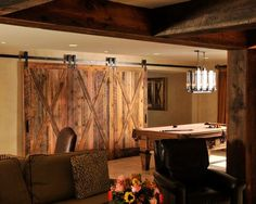 Rustic basement ideas for a gorgeous basement remodeling or renovation of your basement with gorgeous layout 2