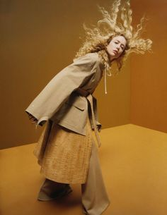 EDITORIAL: Raquel Zimmermann in Vogue Paris August 2016 by Harley Weir - Ton Sur Ton - Photography: Harley Weir,  Model: Raquel Zimmermann,  Styling: Suzanne Koller,  Hair: Gary Gill,  Make-Up: Thomas De Kluyver,  Set Design: Emma Roach.