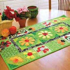 Bugs in my Daisies | May/June 2011 | McCall's Quilting