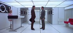 2001: A Space Odyssey (1968, Stanley Kubrick) / Cinematography by Geoffrey Unsworth