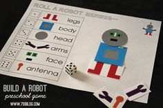 seven thirty three - - - a creative blog: Build A Robot ;Simple Machines