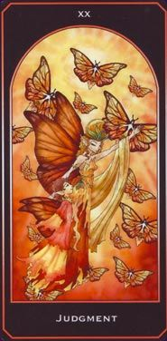 Card Images from the Tarot of the Lepidopteran People