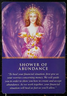 The angels want you to know your financial prayers have been heard and answered! Give all of your money worries to them and follow your gut instincts, as they are guiding you to towards an improved financial state. The less you worry and the more you listen, the sooner you'll see improvements! #angels #tarot #guidance #release #intuition #financialhealing