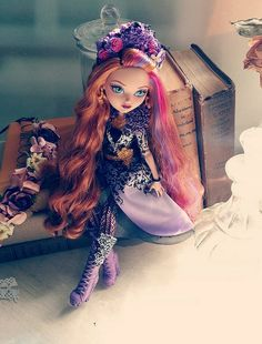 Holly Ohair blossoms in spring unsprung! Ever After High
