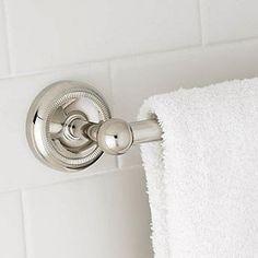 How to Install a Towel Bar in a Bathroom #stepbystep