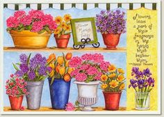 zülüşün işleri: çiçek temalı dekupaj resimleri