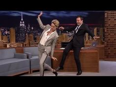 """Shailene Woodley Goth DANCE Moves With Jimmy Fallon"""