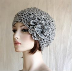 Crochet Womens Hat Womens Slouchy Beanie Large by endlesscreation