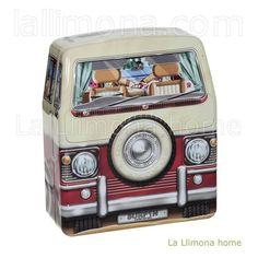 Caja furgoneta surf metal en La Llimona home