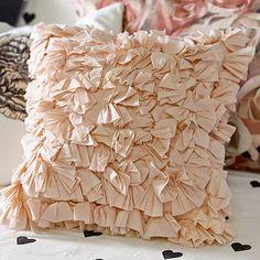 The Emily + Meritt Frill Pillow Cover #pbteen