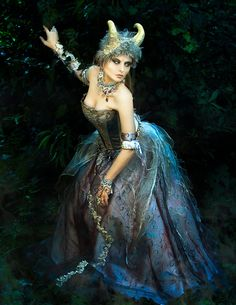 Titania, Queen of Faeries by ~TheIronRing on deviantART #faerie