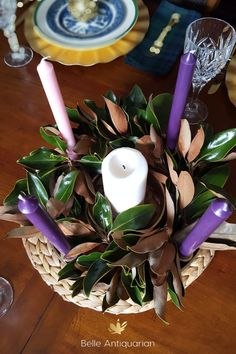 Advent Wreath and Devotional