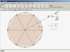Finding Pi by Archimedes' Method - YouTube