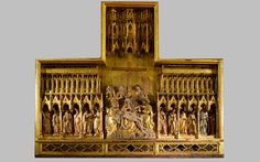 Sculpted flemish altarpieces - Albayalde - Typology and Style