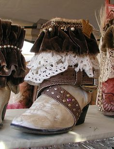 Lexa's Boots @ The Vintage Marketplace~Next show June 1st & 2nd 2012...