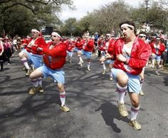 The 610 Stompers. Ordinary men, extraordinary moves. New Orleans's one and only all-male dance crew.