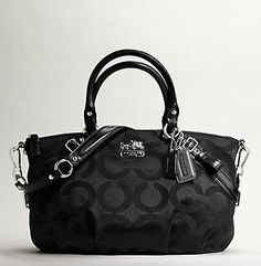 Coach Madison Op Art Sateen Sophia Satchel - I've wanted this for years!