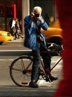 """The best fashion show is definitely on the street. Always has been, and always will be."" - Bill Cunningham - Sad news, he was truly an original."