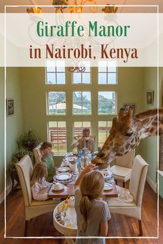 Giraffe Manor in Nairobi, Kenya is one of the coolest places I've ever stayed! Read more about what it was like at http://travelbabbo.com/2016/03/stay-giraffe-manor/