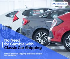 Our large network of carriers includes a number of dedicated carriers for this purpose which gives an additional surety to us and our customers about the safe handling of these vehicles. #ClassicCarShipping #InstantShipping #OnlineAutoDelivery #movecar #CarShippingCost #autotransportcarriers #autotransport #carshipping