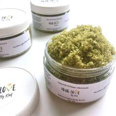 MATCHA MINT Body Scrub | Green Tea Scrub | Vegan Body Scrub | Organic Sugar Scrub | Dead Sea Salt Scrub | Organic Body Scrub | Matcha Scrub by madewithlovebykm on Etsy https://www.etsy.com/listing/528206769/matcha-mint-body-scrub-green-tea-scrub