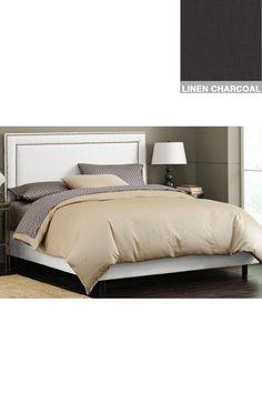 Nail Border Upholstered Bed