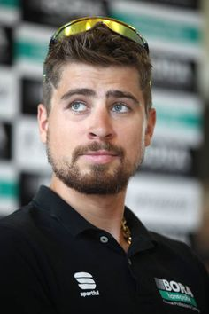 Peter Sagan of Slovakia and Team BoraHansgrohe / during the Tour de France 2018 Team BoraHansgrohe press conference on July 6 2018 in Cholet. Road Cycling, The Man, Ps, Conference, Freedom, Iphone Cases, Celebrity, Exercise, Cartoon