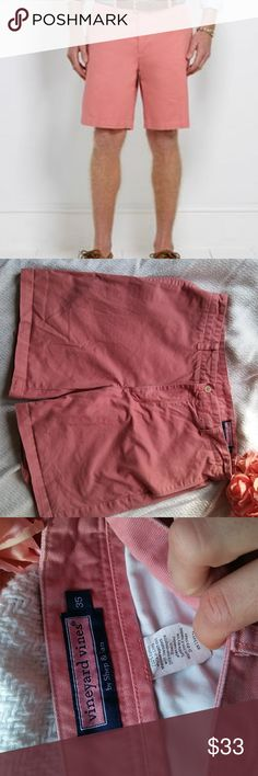 Vineyard Vines Men Club Shorts Size 35 Vineyard Vines Men's club shorts in Rhubarb.  Very stylish and preppy!  Made of 100% cotton. Vineyard Vines Shorts