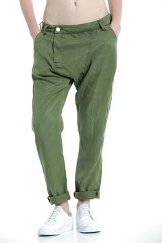 EM7235 Military Cropped Jodhpur Cropped Pant