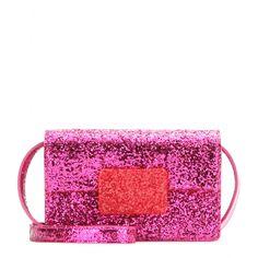 Lulu Bunny Small Glitter Shoulder Bag ∫ Saint Laurent ► mytheresa.com