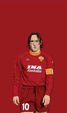 As Roma, Football Players, Caricature, Fifa, Rome, Legends, Soccer, Cartoon, Sports