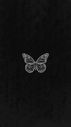 Aesthetic black wallpaper