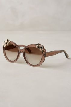 950ba6a85f923 Jimmy Choo Megan Jeweled Sunglasses -  anthroregistry Fashion Accessories