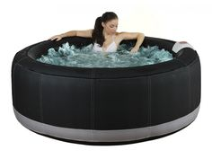 Whirlpool aufblasbar Bcool II - Schwarz