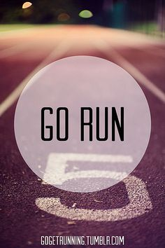 The weather has me feeling sleepy and lazy, but I am about to get my run on anyway.